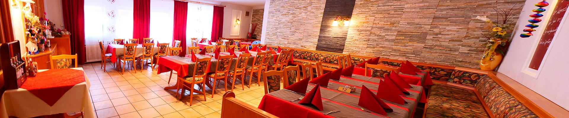 Bei Christian in Massing, Inneneinrichtung des Restaurants